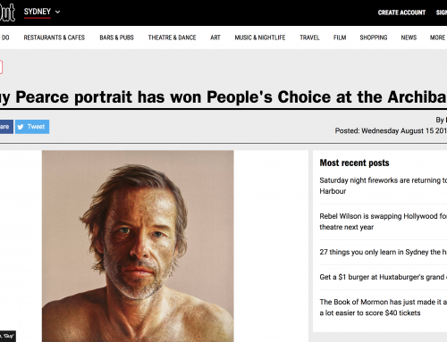 Time Out: Archibald People's Choice 2018