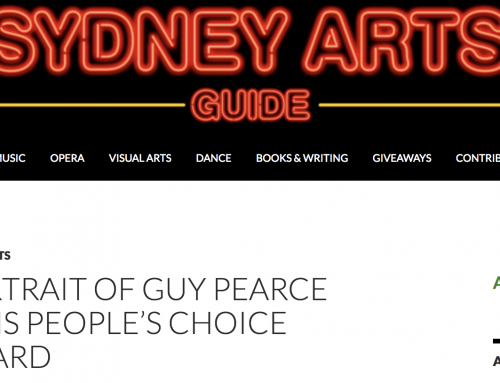 Sydney Arts Guide, August 16 2018